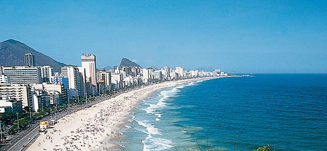 Rio De Janeiro Brazil Copacabana Beach Hotels