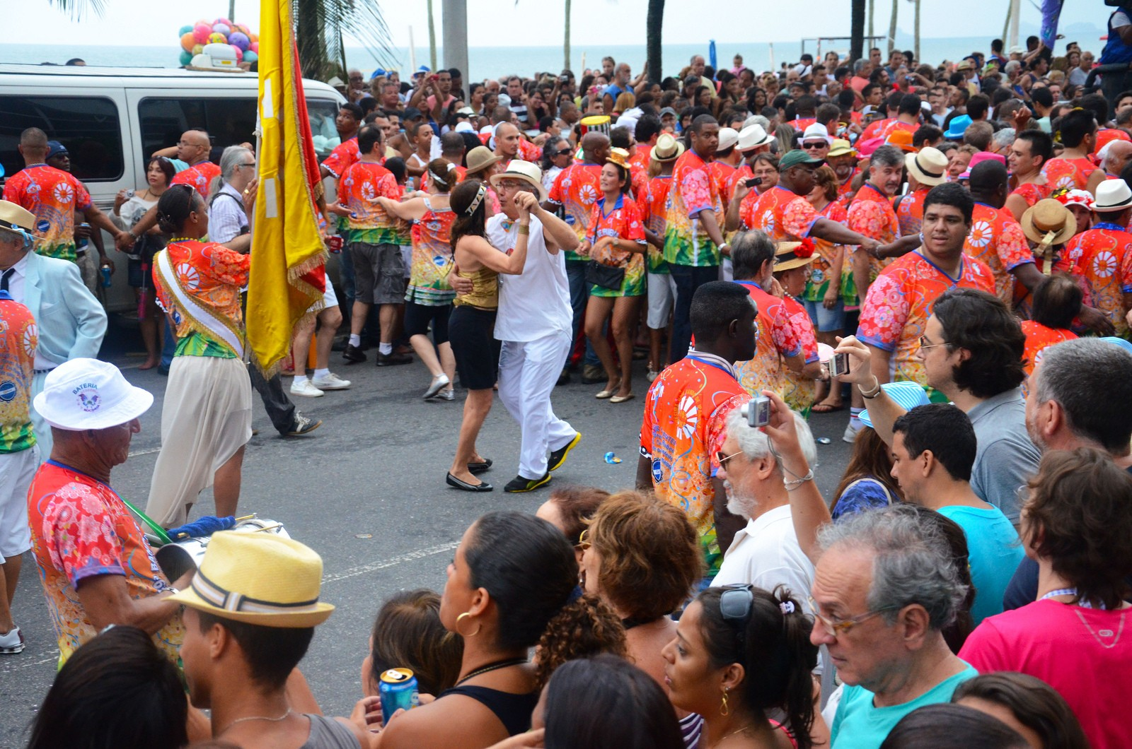 Banda de Ipanema and a dancing couple