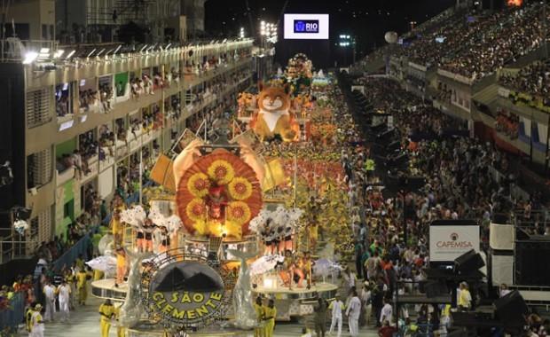 Sao Clemente Samba Parade Overview
