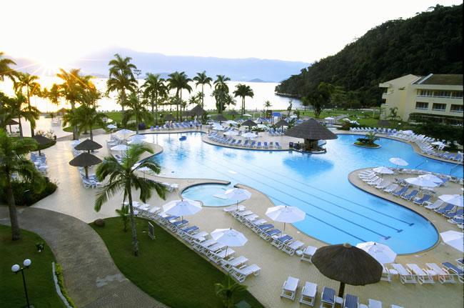 Vila Gale Eco Resort de Angra Hotel in Angra dos Reis - Pool area
