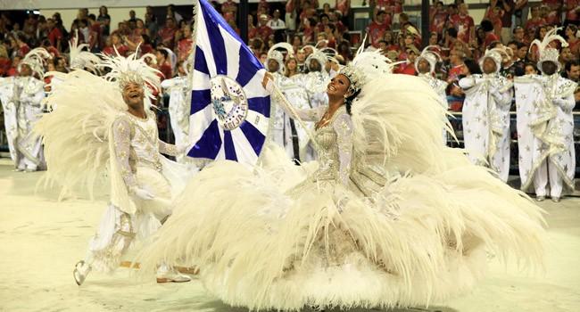 Beija-Flor samba school carnival parade Rio de Janeiro Brazil