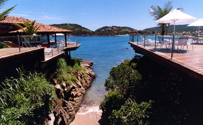 The Ferradura Beach Resort in Buzios Brazil