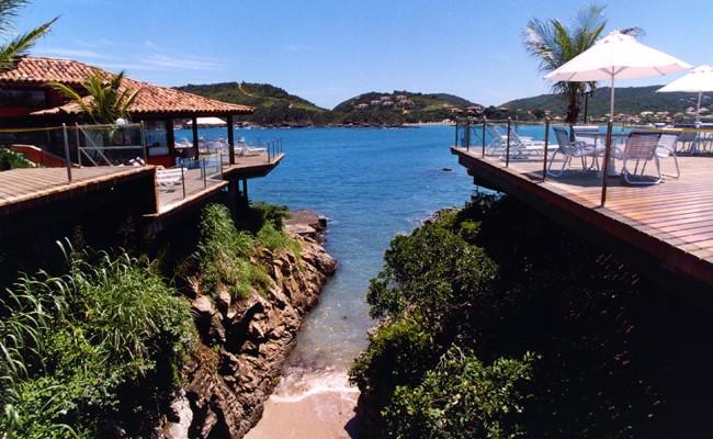 The Ferradura Beach Resort in Buzios Brazil