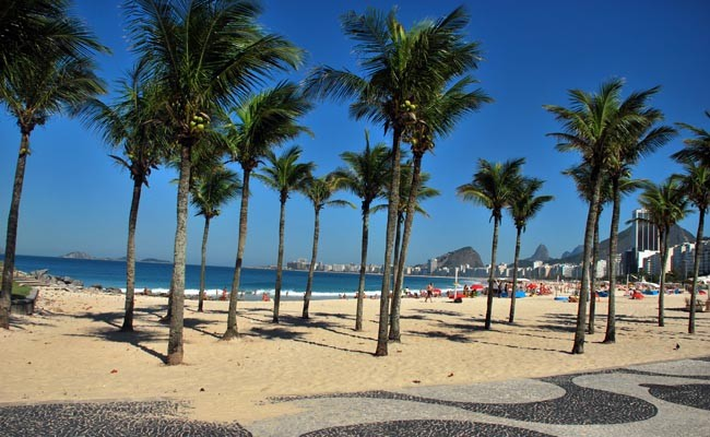 Copacabana and Leme Beaches Rio de Janeiro