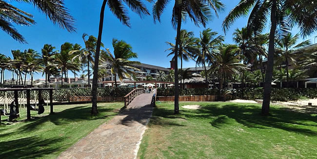Beach Park Suites Hotel in Fortaleza - Facade