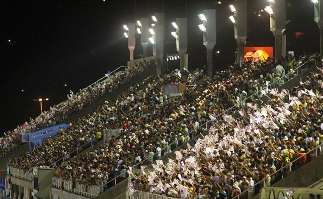 Grandstands seats - Rio Carnival parade