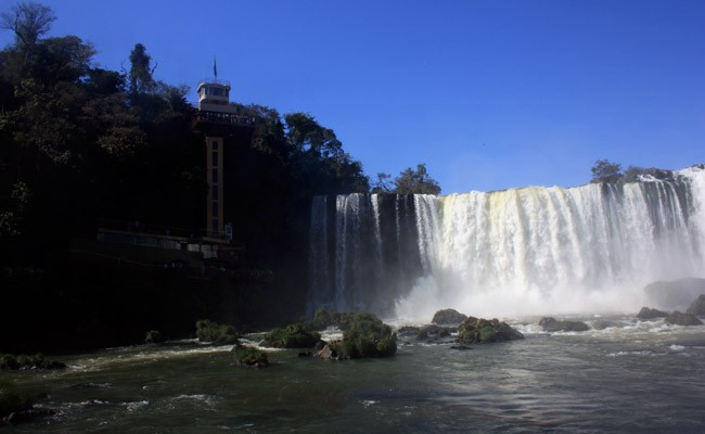 Majestic Cataratas of Iguazu in Brazil