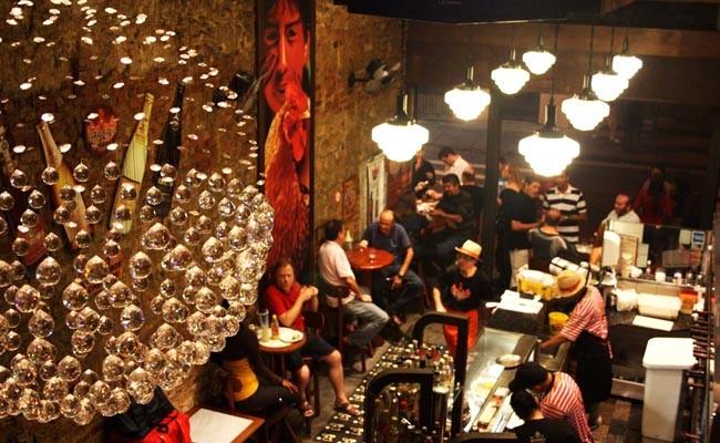 Lapa bars and restaurants in Rio de Janeiro