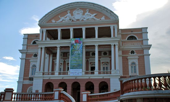 Amazon theatre Manaus Brazil
