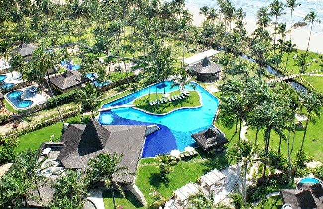 Kiaroa Eco Luxury Resort Hotel in Marau - Aereal View
