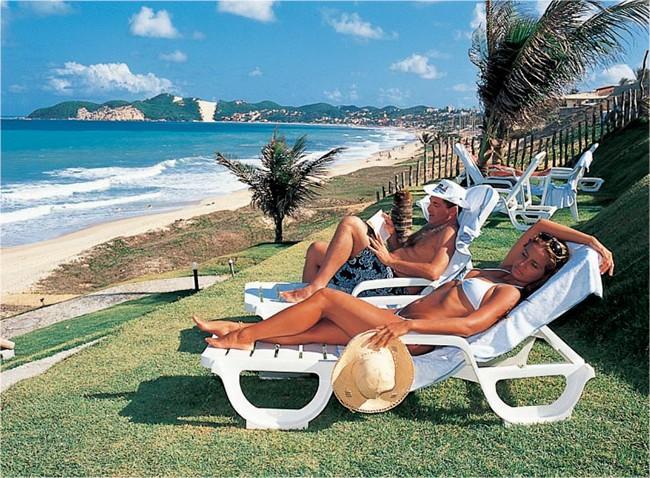 Rifoles Praia Hotel in Natal - Beach Lounge