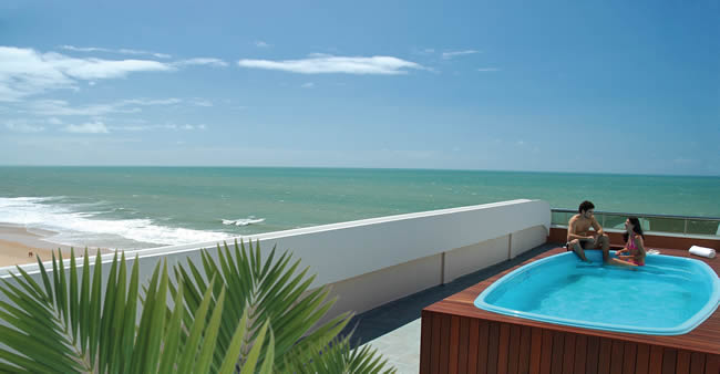 Serhs Natal Grand Hotel, Natal - Pool area