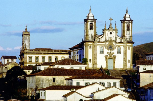Classica Pousada Hotel in Ouro Preto - View of Ouro Preto