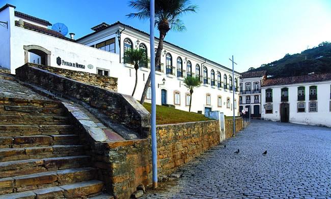 Mondego Pousada Hotel in Ouro Preto - Facade