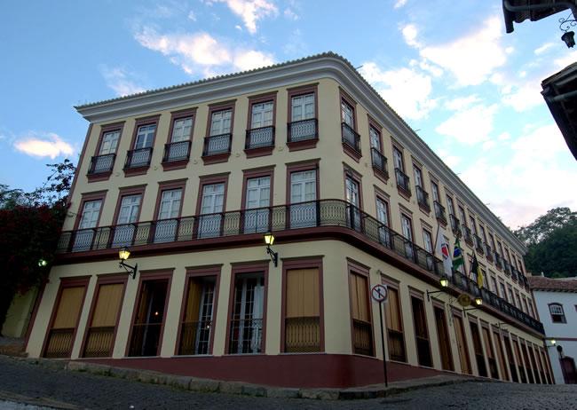 Solar Nossa Sra do Rosario Hotel in Ouro Preto - Facade