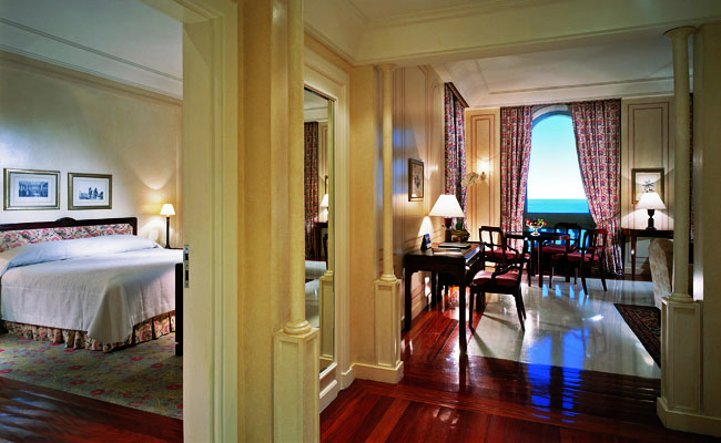 The Copacabana Palace Hotel in Rio de Janeiro Brazil