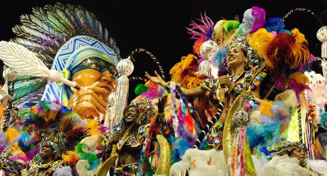Beija Flor Carnival parade 2010 Rio de Janeiro Brazil Sambadrome