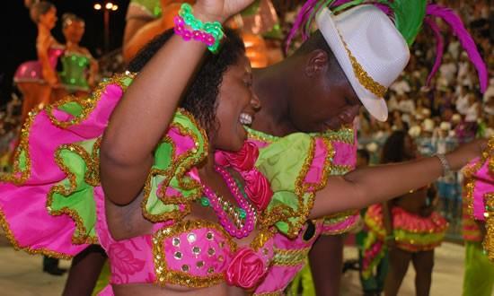 Rio Carnival costumes parade 2010