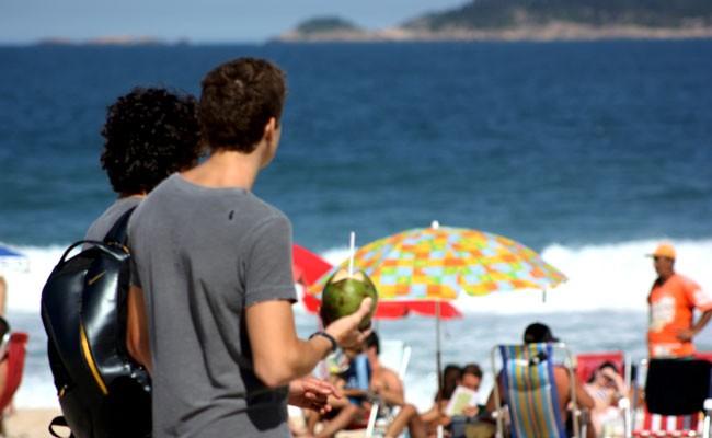 Ipanema sunny day Rio de Janeiro Brazil