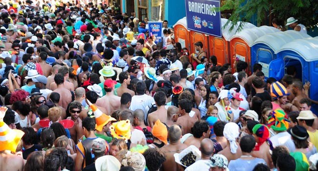 Street parties at Rio Carnival