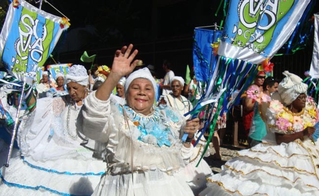 Suvaco de Cristo Street Party in Rio during Carnival
