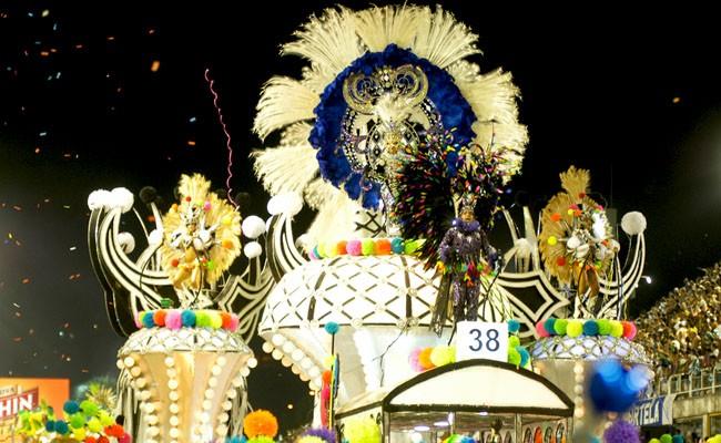 Vila Isabel Samba School Rio Carnival Brazil
