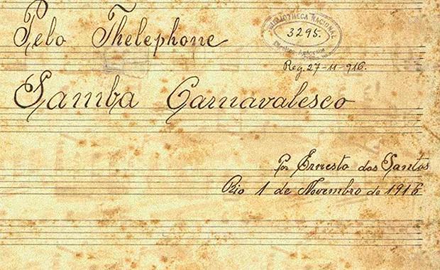 Pelo-telefone-samba